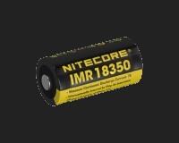 Nitecore 18350 Li-Ion IMR Akku