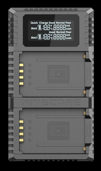 Nitecore FX2 PRO - für Fuji Cameras