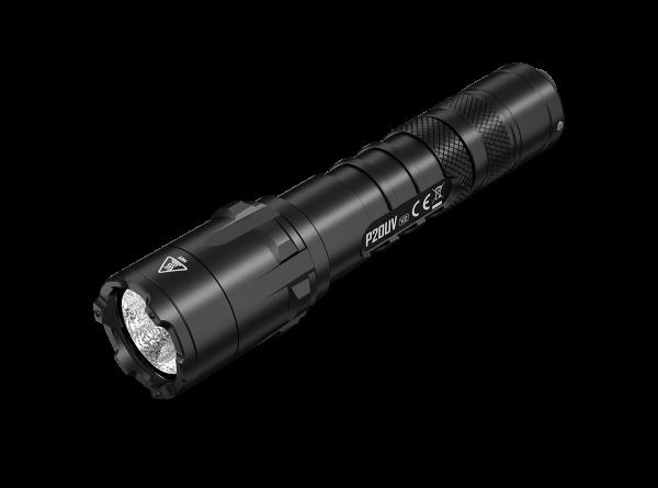 Nitecore P20UV V2 - 1000 Lumen + UV-Licht