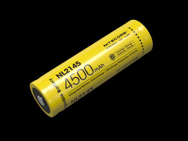 Nitecore Li-Ion Akku Typ 21700 - 4500mAh - NL2145
