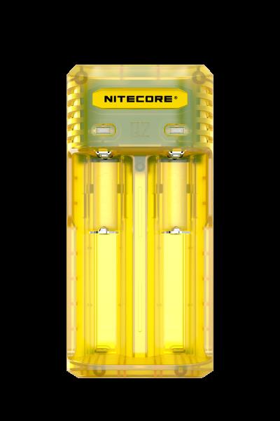 Nitecore Q2 - Ladegerät für Li-Ion Akkus in 4 Farben