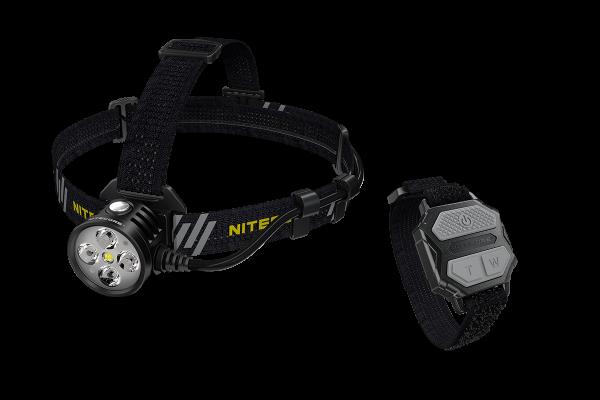 Nitecore HU60 - 1600 Lumen, elektronischer Fokus inkl. Fernbedienung