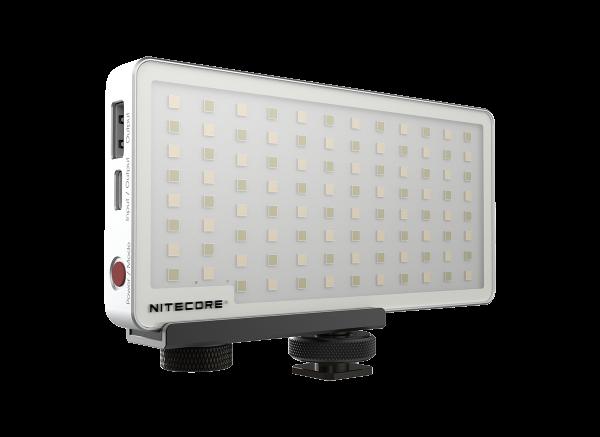 Nitecore Kamera Licht inkl. Powerbank