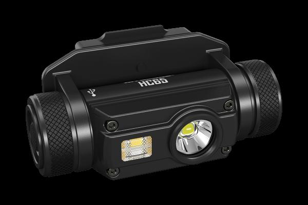 Nitecore HC65M - 1000 Lumen, drei Lichtquellen, inkl. Akku und NVG-Halterung
