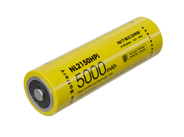 Nitecore Li-Ion Akku 21700, 5000mAh, NL2150HPi