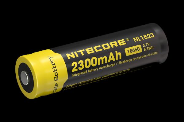 Nitecore Li-Ion Akku Typ 18650 - 2300mAh - NL1823